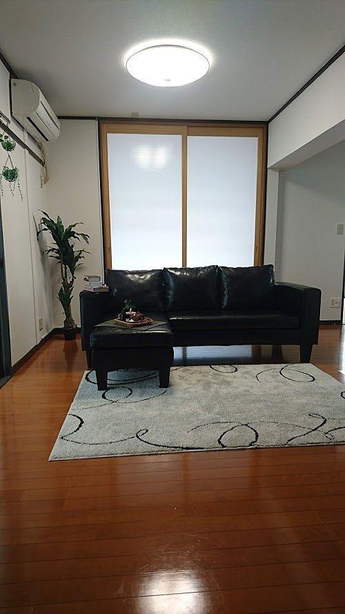 大きなソファーも大丈夫