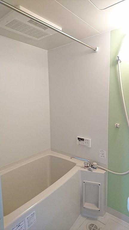 追炊き機能付き、浴室乾燥完備