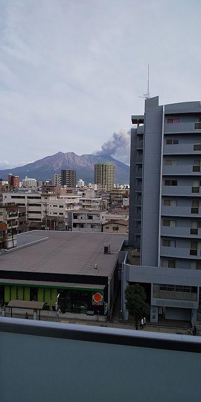"""お部屋から鹿児島のシンボル""""桜島""""が見えます"""