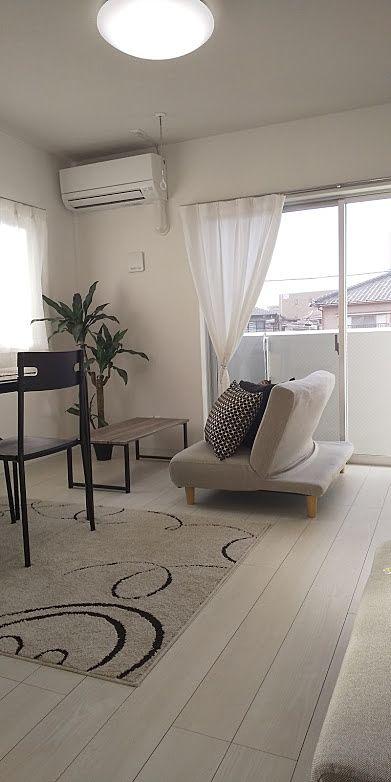 家具を配置してこんな雰囲気にしてみました