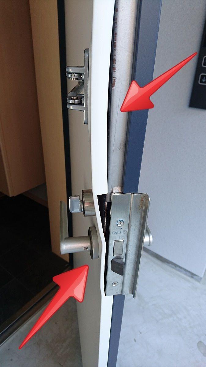 入居者トラブルでドアを破損!![賃貸トラブル]