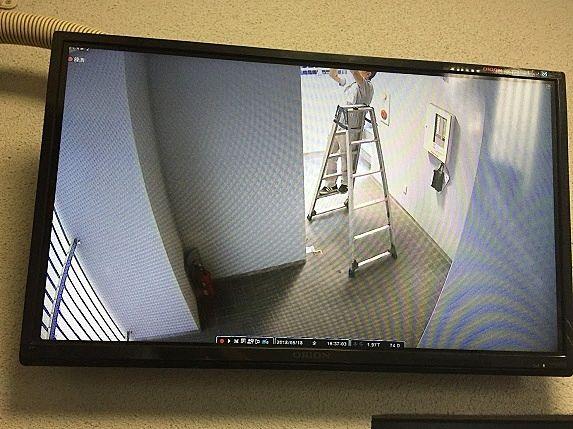 管理マンションへ防犯カメラ設置を進めています!