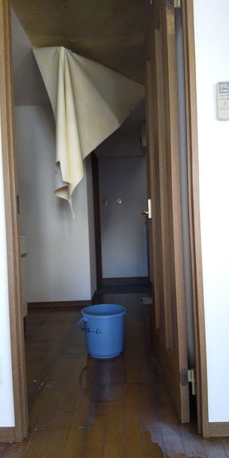 賃貸でよく起こる!~洗濯機のホースがはずれた漏水事故
