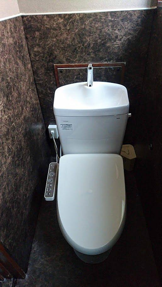 和式トイレから洋式トイレへ変更