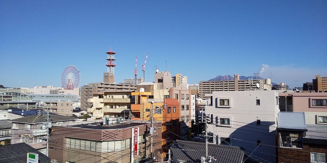 鹿児島市 武一丁目 れいめい武からの眺望