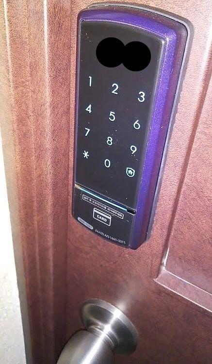 鹿児島市ベストホーム 電子錠の設置