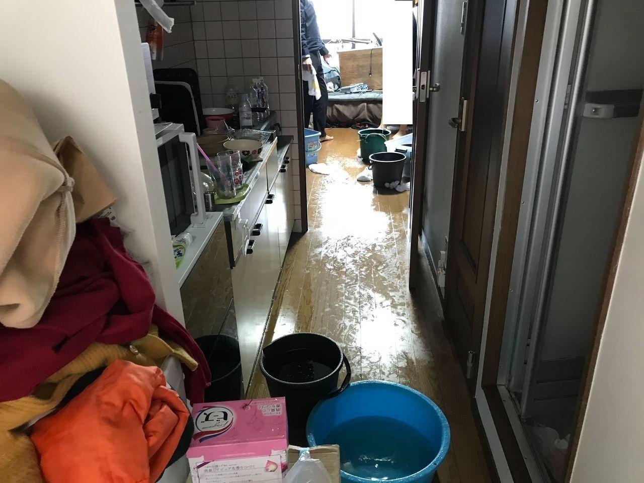 鹿児島市 漏水事故工事 ベストホーム