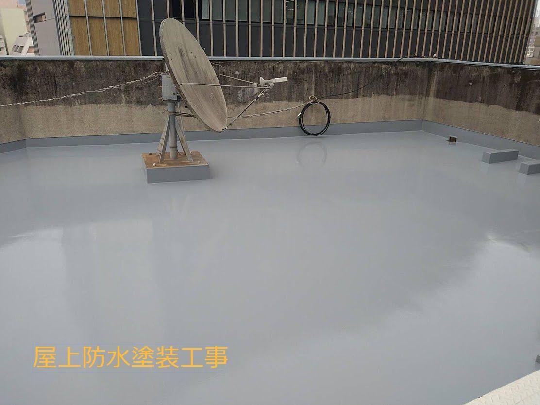 鹿児島市 ベストホーム 屋上防水塗装工事