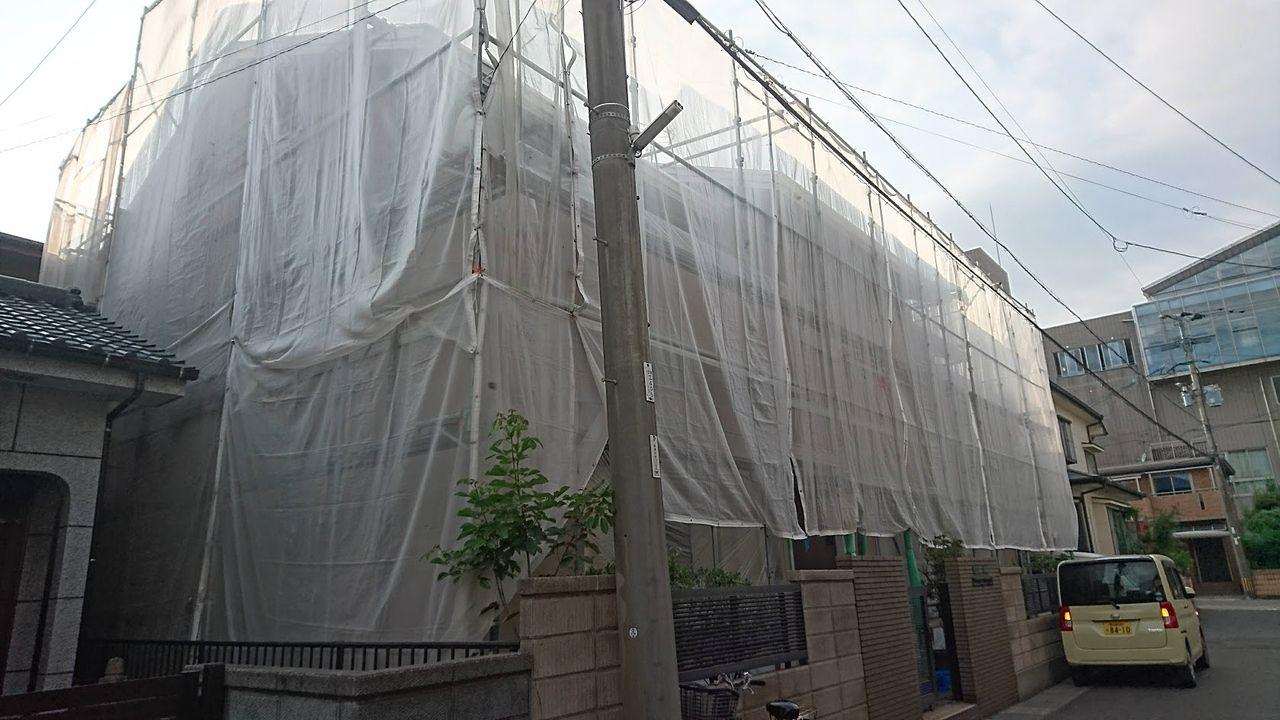 風雨や日光から建物を守る塗装はとても大切です